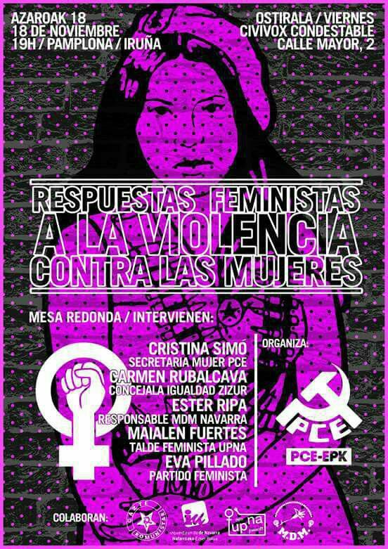 Mesa redonda: Respuestas feministas a la violencia contra las mujeres