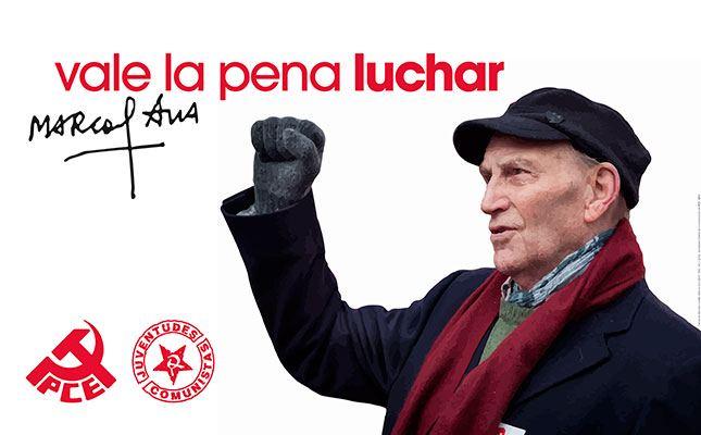 Despedida del camarada Marcos Ana. Delegación del PCE-EPK acudirá a Madrid.