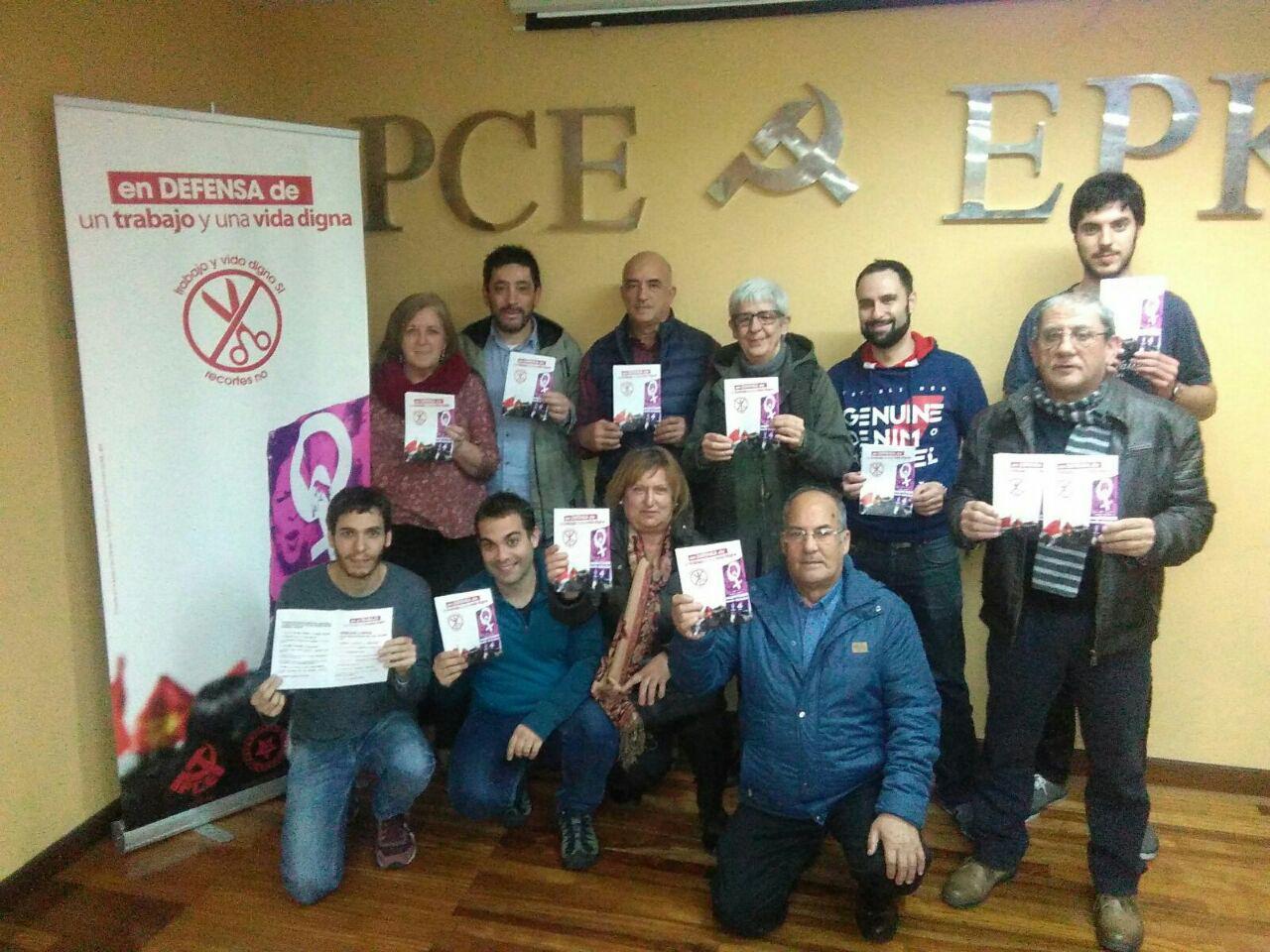 Campaña en defensa del derecho a un trabajo digno, para poder tener una vida digna.