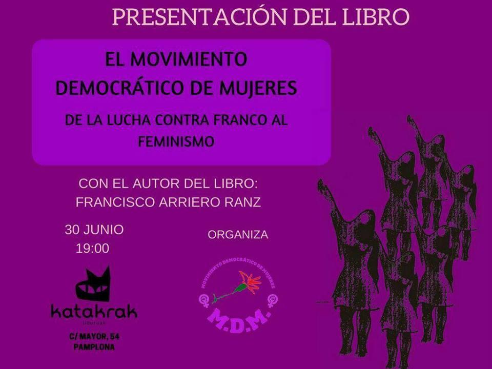 Presentación libro «El Movimiento Democrático de Mujeres»