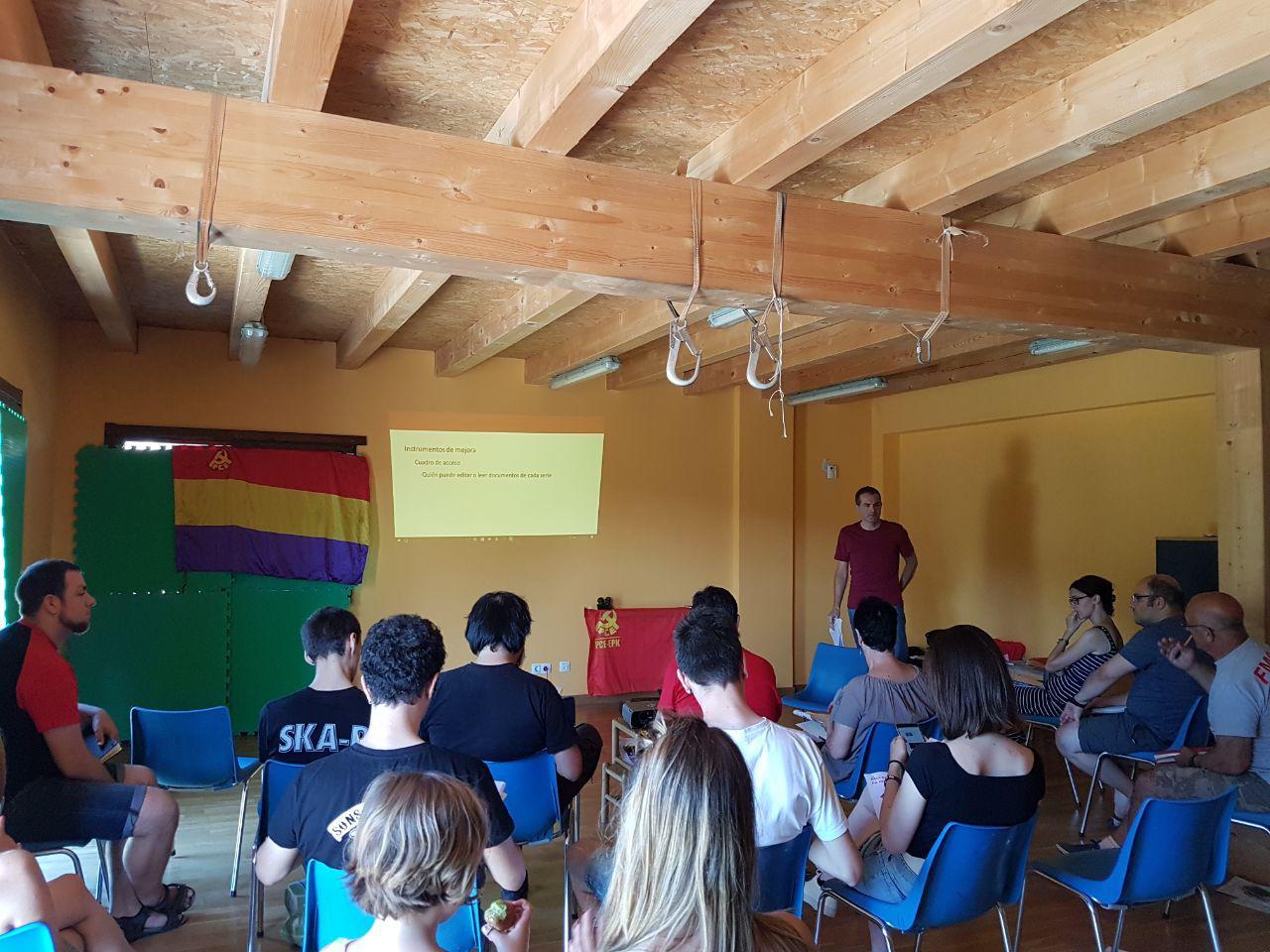 Este fin de semana se realiza la escuela de formación de verano del Partido Comunista de Euskadi-EPK.