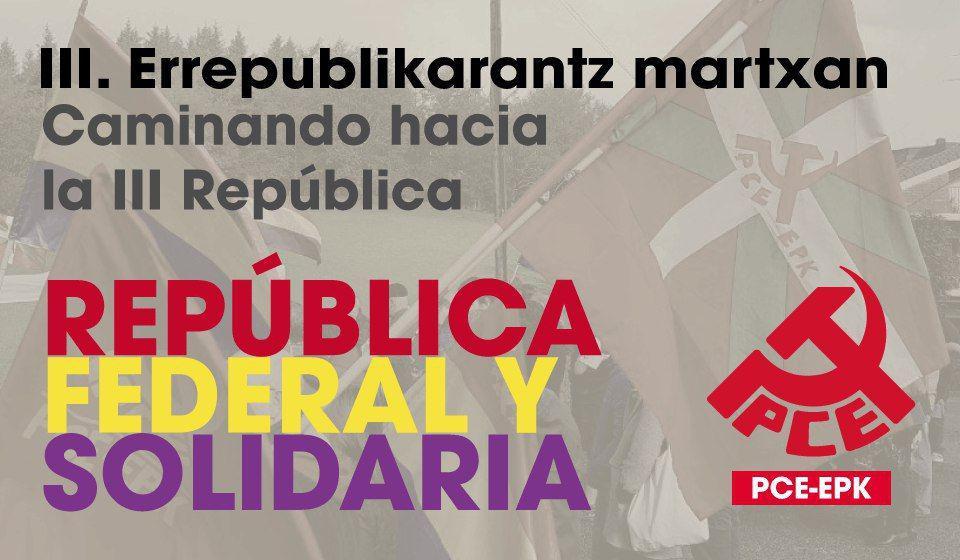 Manifiesto 6 de diciembre. Por la República Federal y Solidaria.