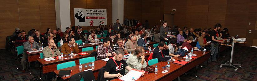 El Comité Nacional del PCE-EPK se reunirá el 20 de Enero para convocar el XV Congreso del Partido.