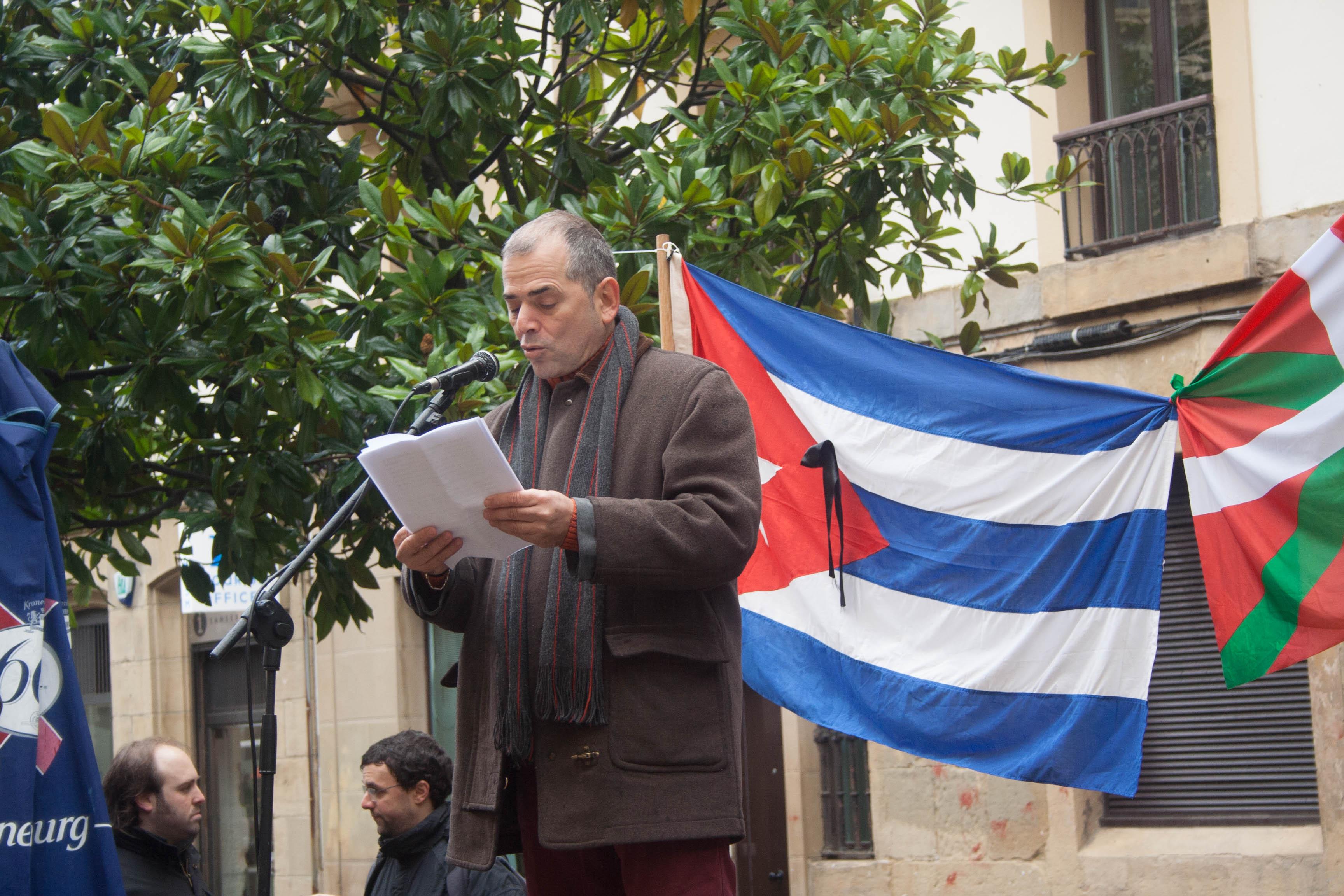 Homenaje a Fidel en Donostia 2 de diciembre de 2017