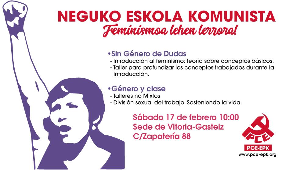 Neguko Eskola Komunista / Escuela de formación de Invierno del PCE-EPK