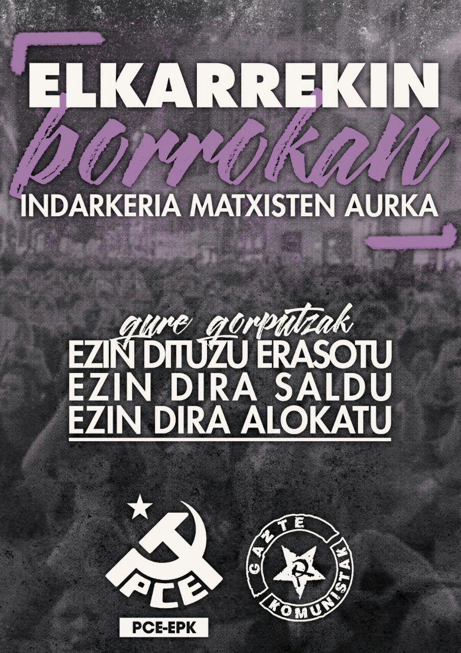 Este 25 de noviembre caminando hacia la huelga feminista del 8 de marzo 2019