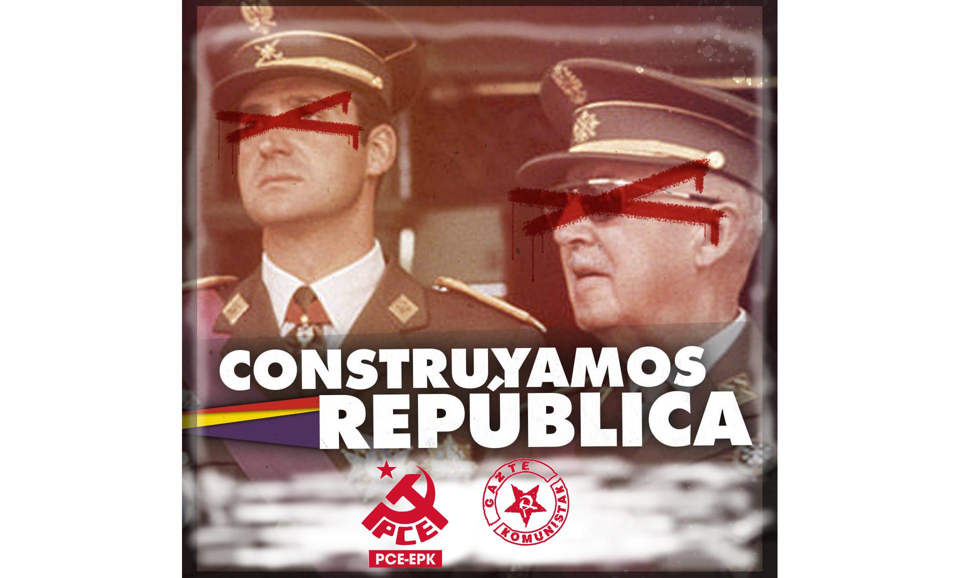 Ante la campaña de blanqueamiento de Juan Carlos Borbón: ¡no nos engañan!