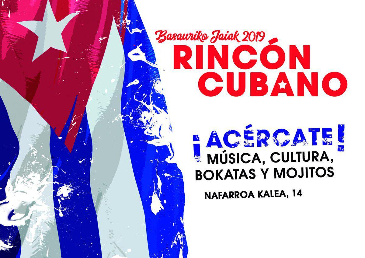 RINCÓN CUBANO DE BASAURI. DESDE EL VIERNES 11 DE OCTUBRE AL DOMINGO 20 DE OCTUBRE