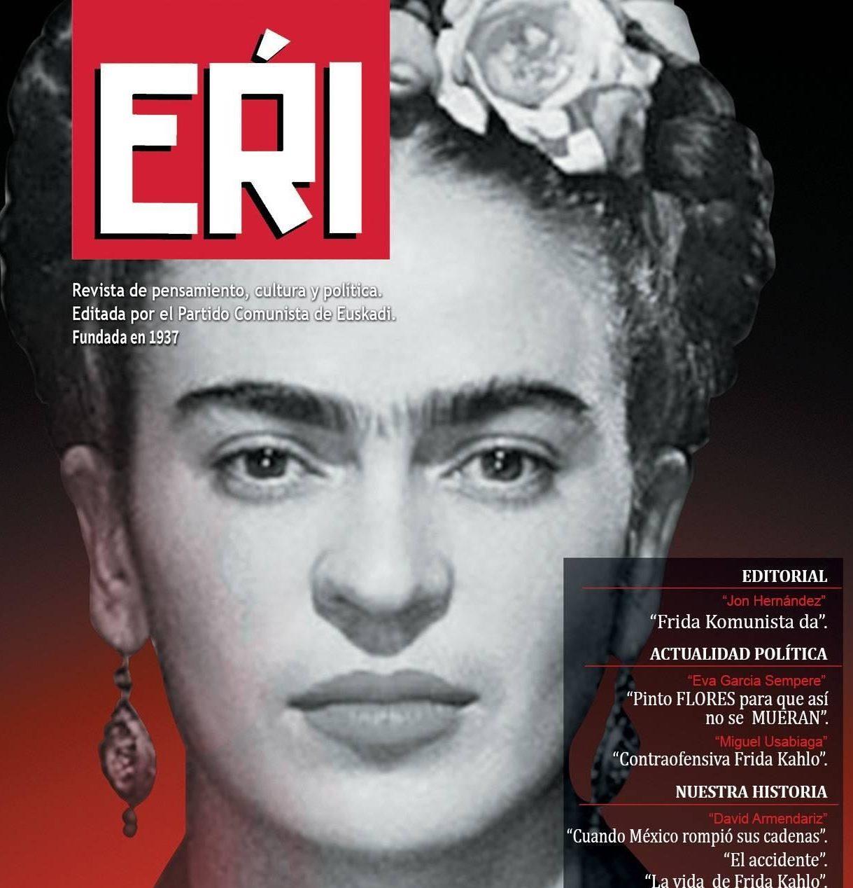 Contraofensiva Frida Kahlo. Ya disponible el número siete de EŔI.