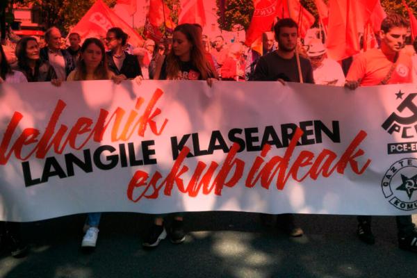 El PCE-EPK exige a los Gobiernos medidas excepcionales para garantizar la protección de los y las trabajadoras, y de los sectores sociales más vulnerables de la sociedad.