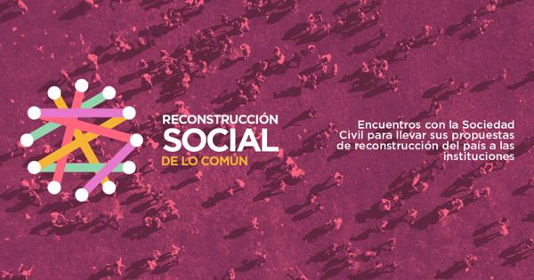 Proceso social para la «reconstrucción» de lo común.