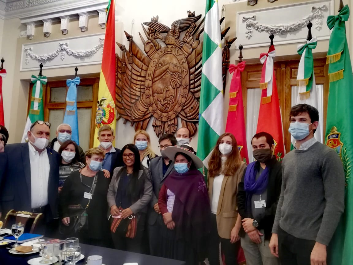 Crónica de las Elecciones de Bolivia del 18 de octubre de 2020.
