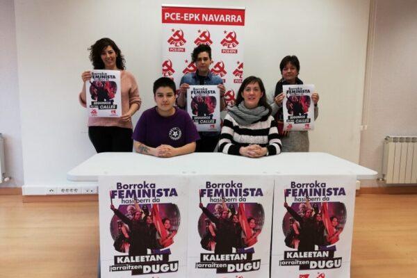 Pamplona-Iruña libre de violencias machistas, no a la perpetuación de la supremacía de los hombres sobre las mujeres.