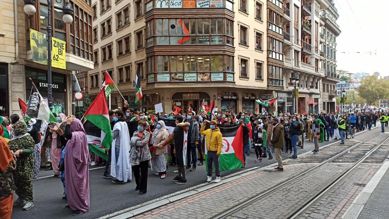 El PCE-EPK se adhiere al llamamiento del movimiento de solidaridad con el Sahara y de la delegación del Frente Polisario en Euskadi.