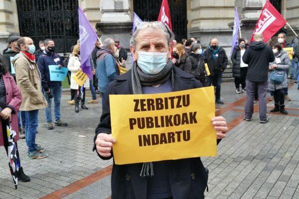 El PCE–EPK respalda las movilizaciones sindicales por los servicios y empleos públicos de calidad y la Huelga General del sector público.