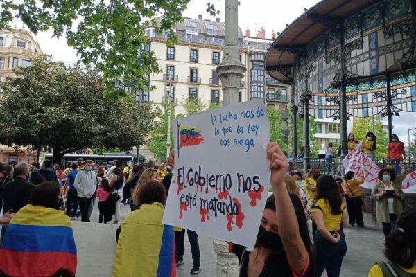 Solidaridad con el pueblo de Colombia frente a la represión.