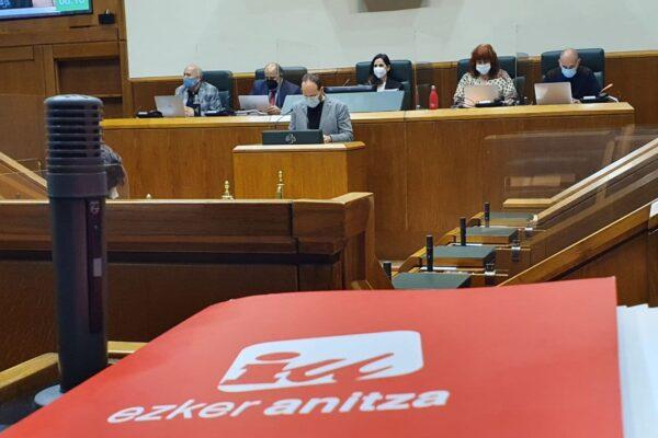 El Parlamento Vasco exige la liberación de la cooperante Juana Ruíz, arrestada ilegalmente por Israel.